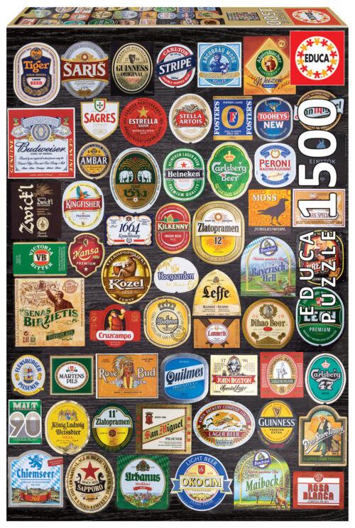 1500 Etiquetes de cervesa