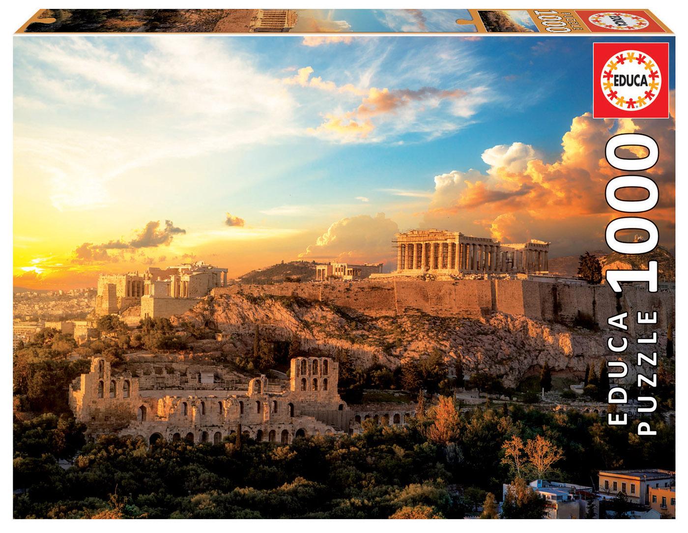 1000 Acrópolis de Atenas