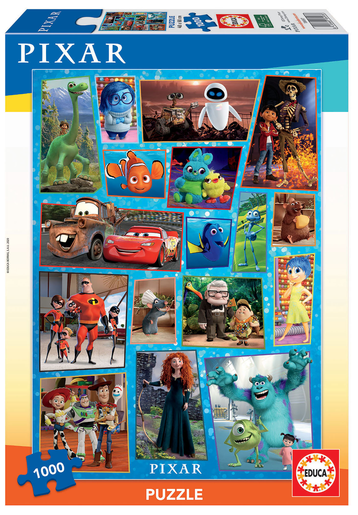 1000 Pixar Family