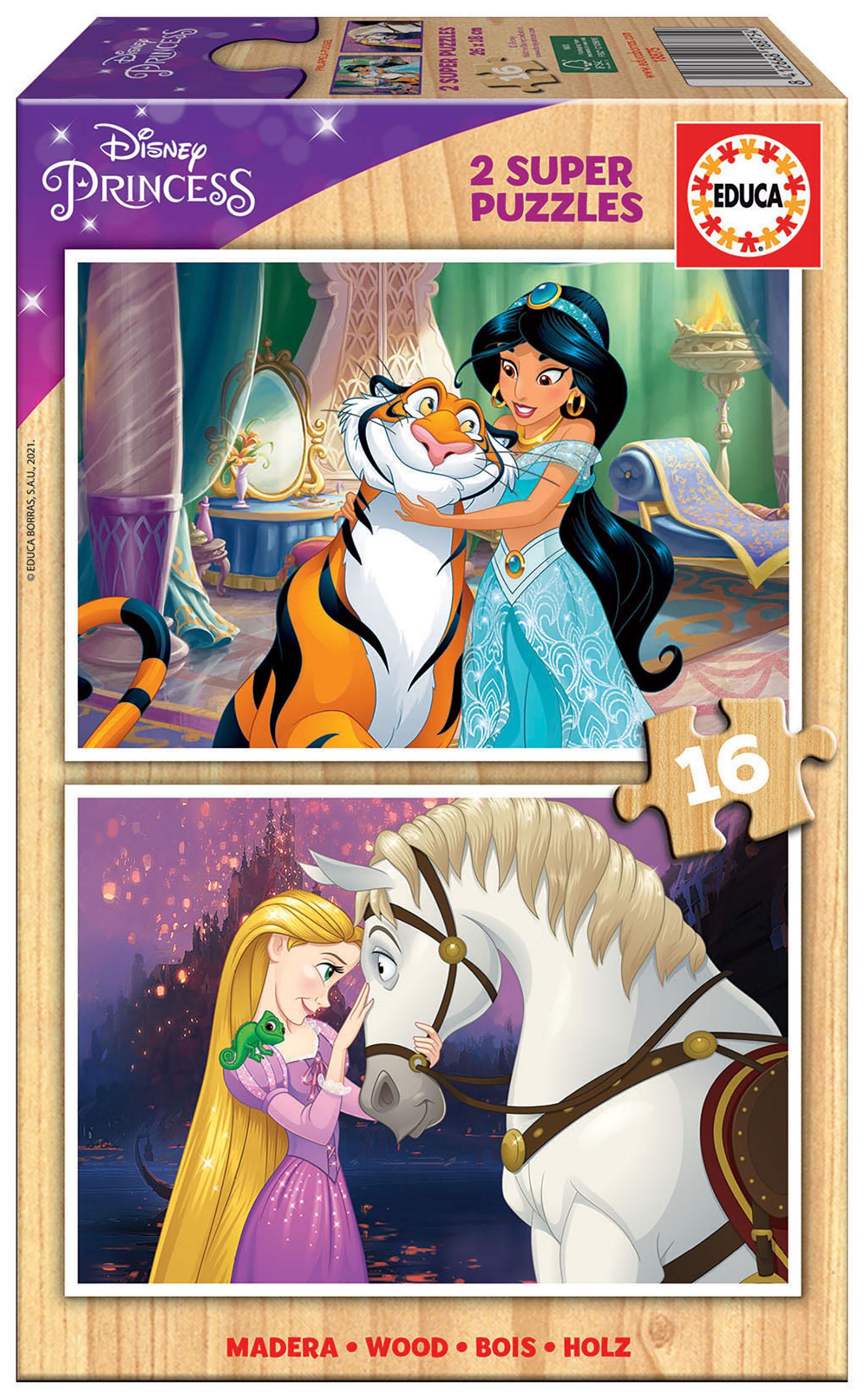 2×16 Disney Princess