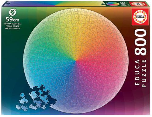 800 Arc Iris Round Puzzle