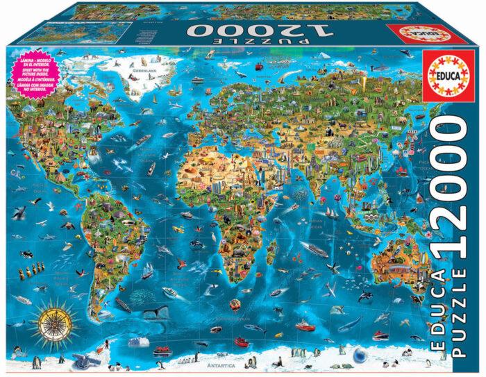 12000 Meravelles el Món