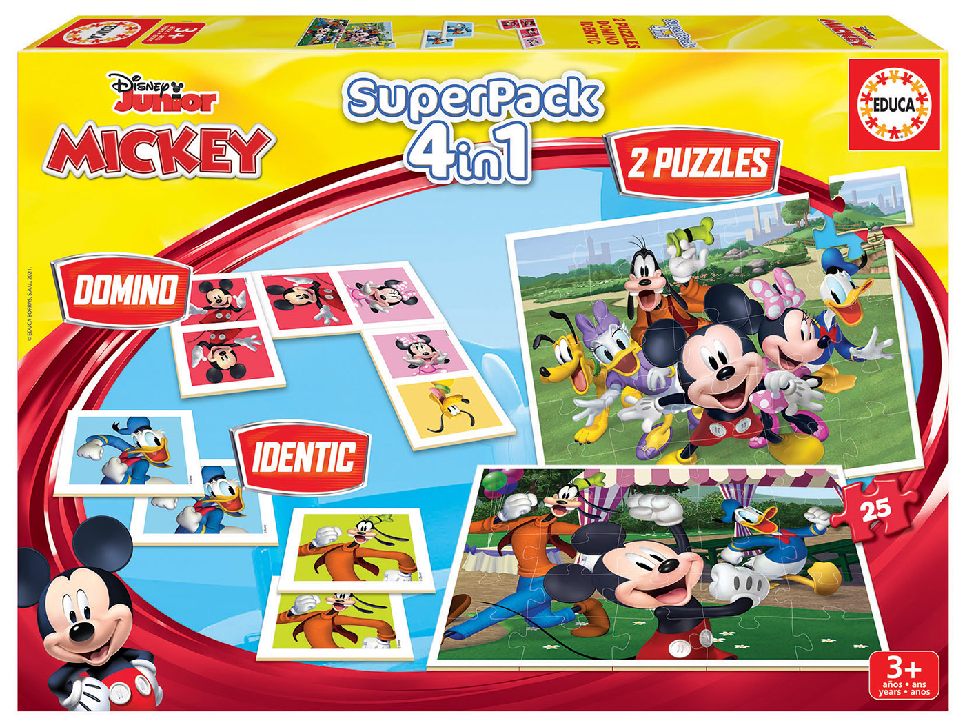 Educa Superpack Mickey and Friends