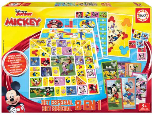 Set 8 en 1 Mickey & Friends