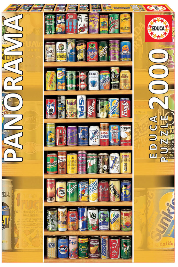 """2000 Soft cans """"Panorama"""""""
