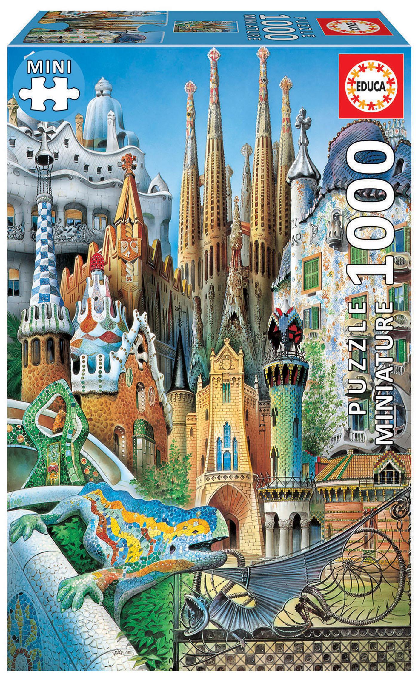 1000 Collage Gaudí «Miniature»