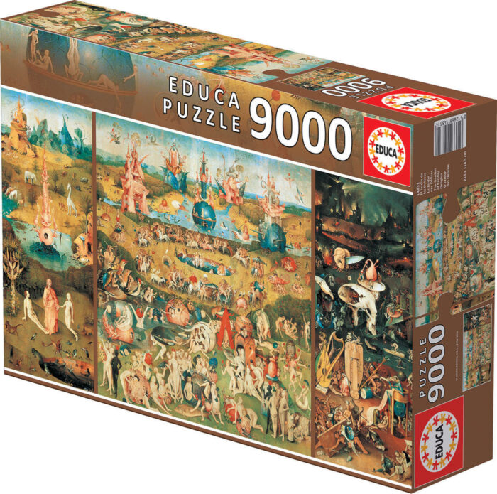 9000 The garden of earthly delights