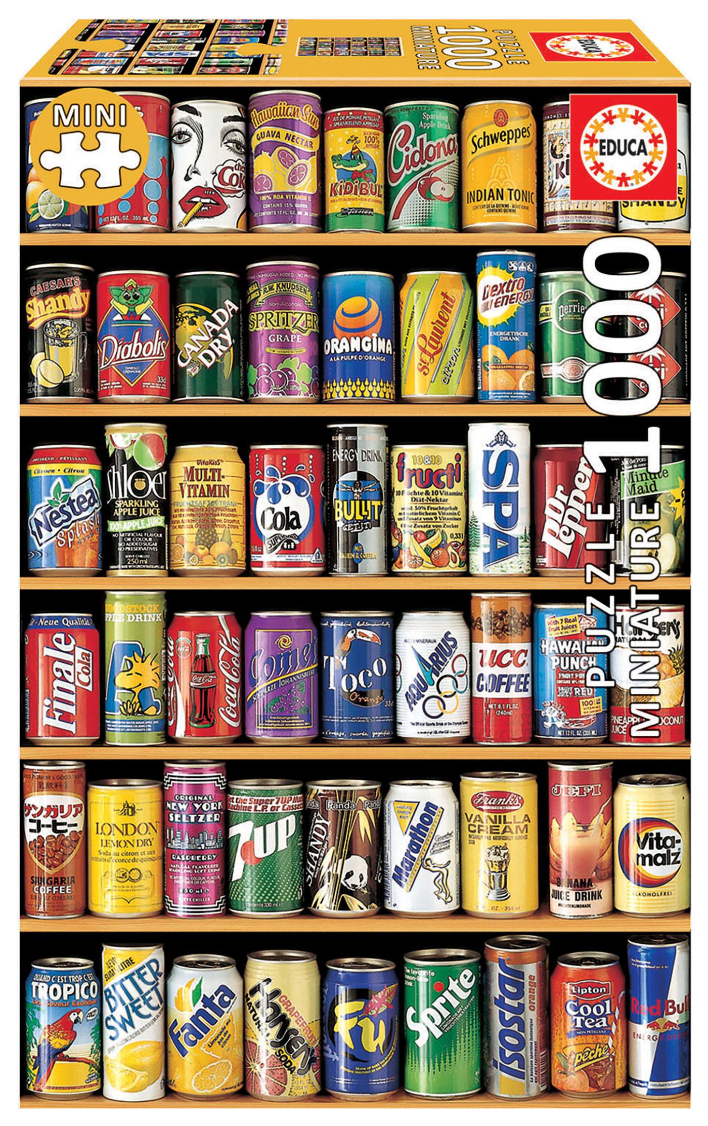 1000 Cannettes «Miniature»