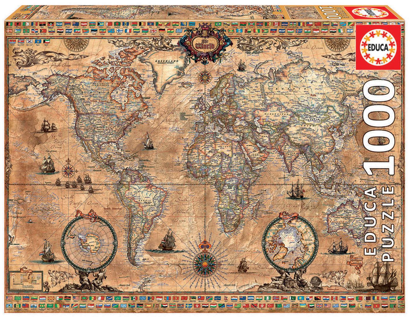 1000 Mapa-múndi
