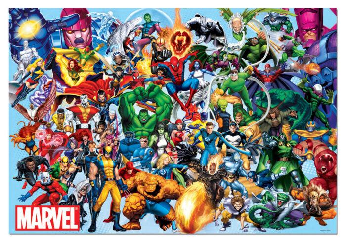 1000 Marvel heroes