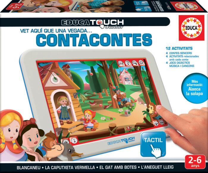Educa Touch Junior contacontes