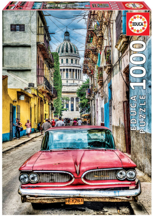 1000 Vintage car in old havana