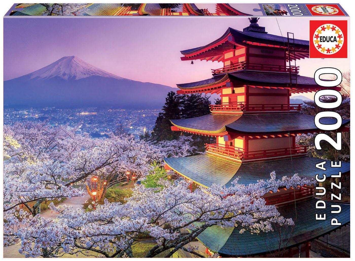 2000 Mont Fuji, Kapon