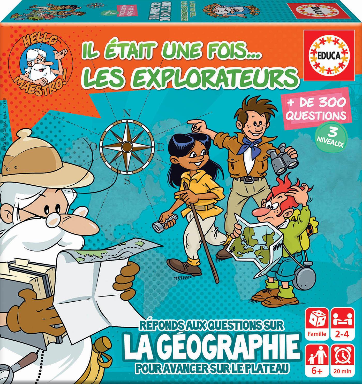 Mini jeu il etait une fois… les explorateurs