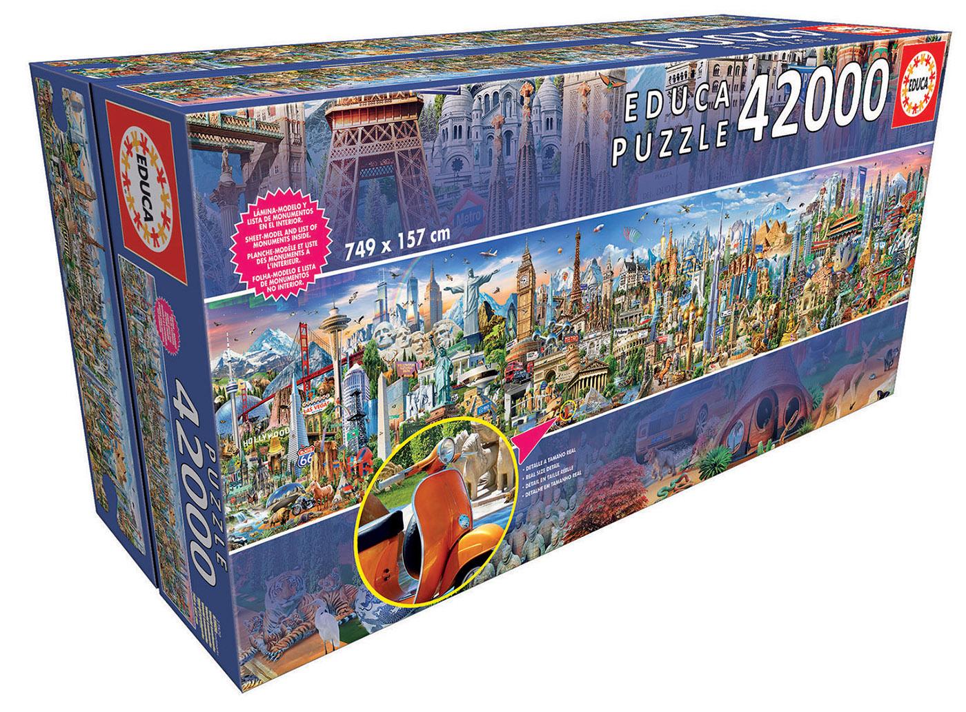 42000 Le tour du monde