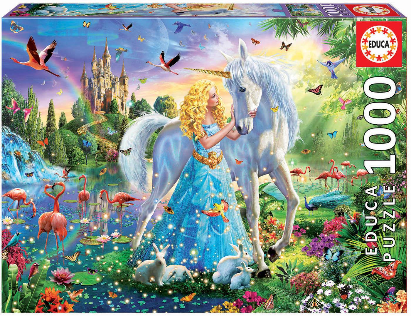 1000 La princesse et la licorne