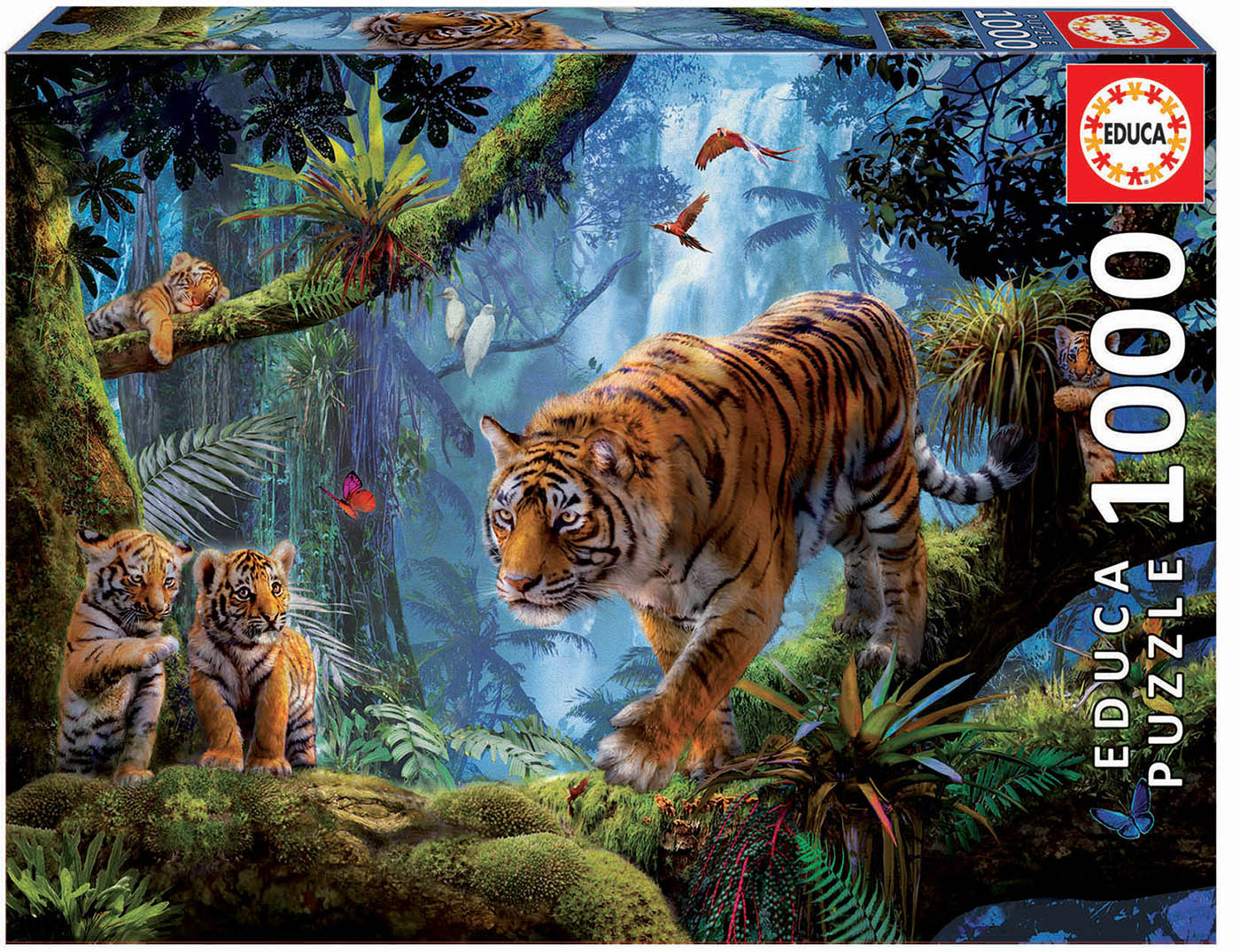 1000 Tigres sur l´arbre