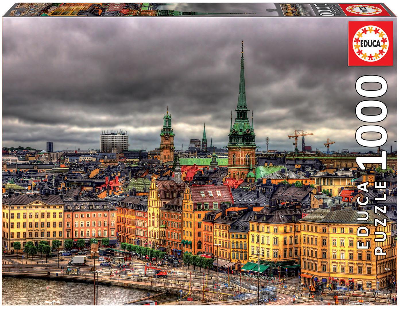 1000 Vue de Stockholm, Suède