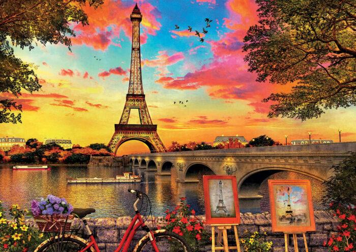 3000 Sunset in Paris