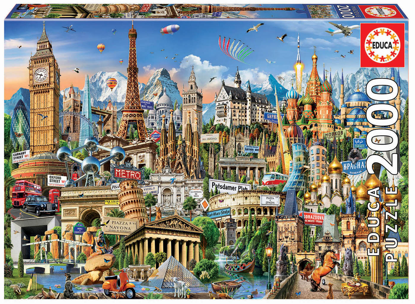 2000 Europe Landmarks