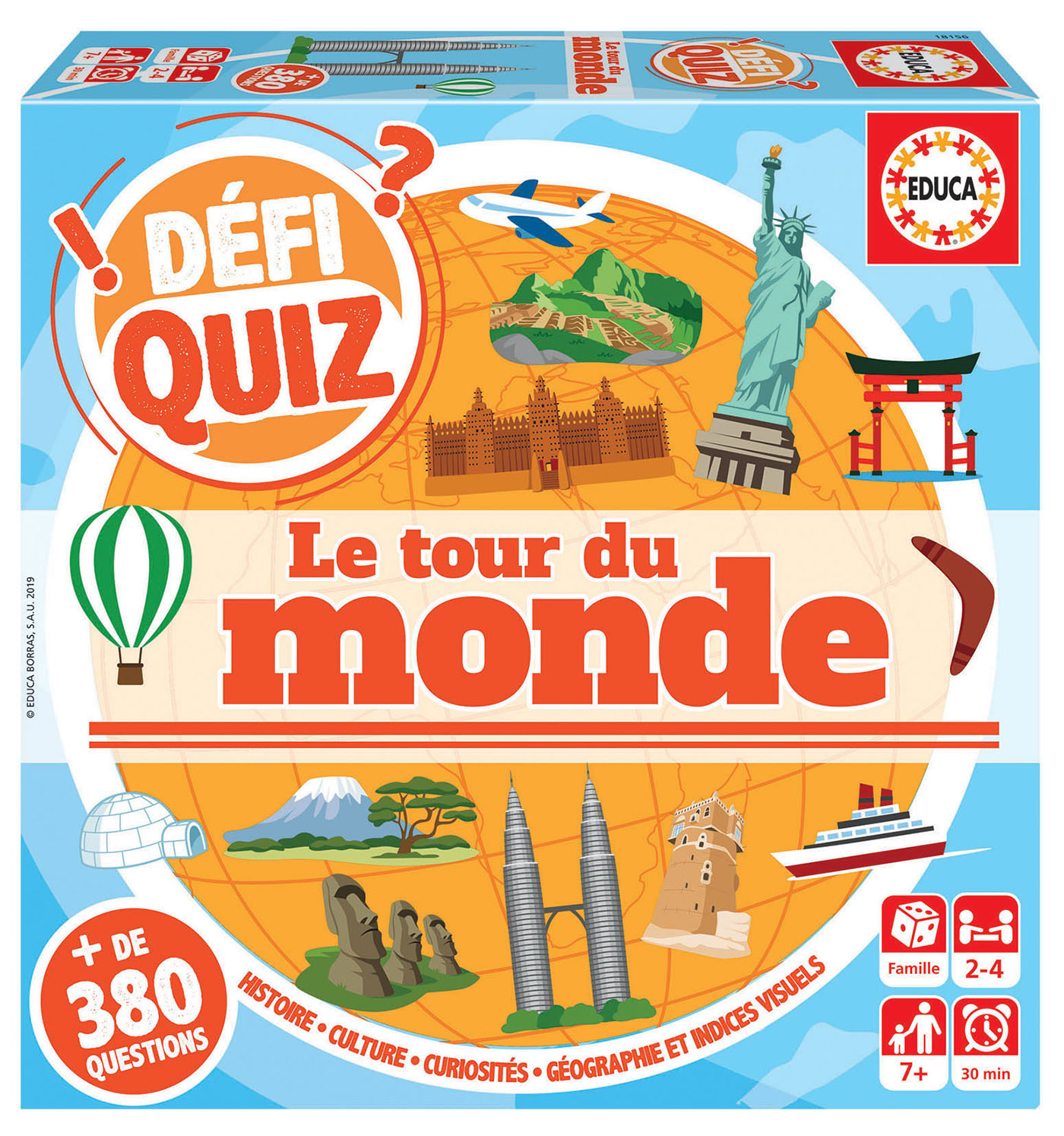 Defi Quiz – Le tour du Monde