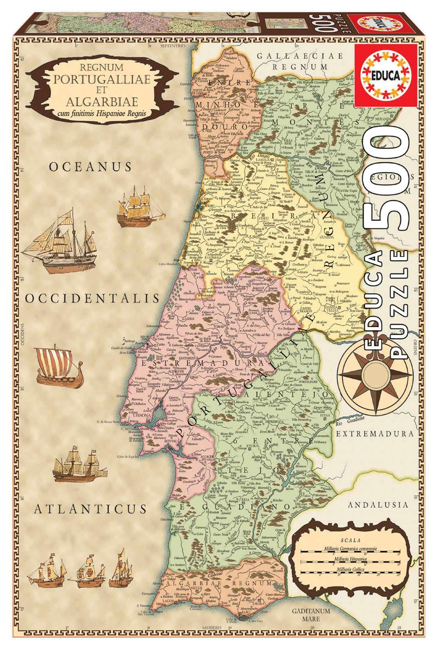 500 Carte Historique Portugal