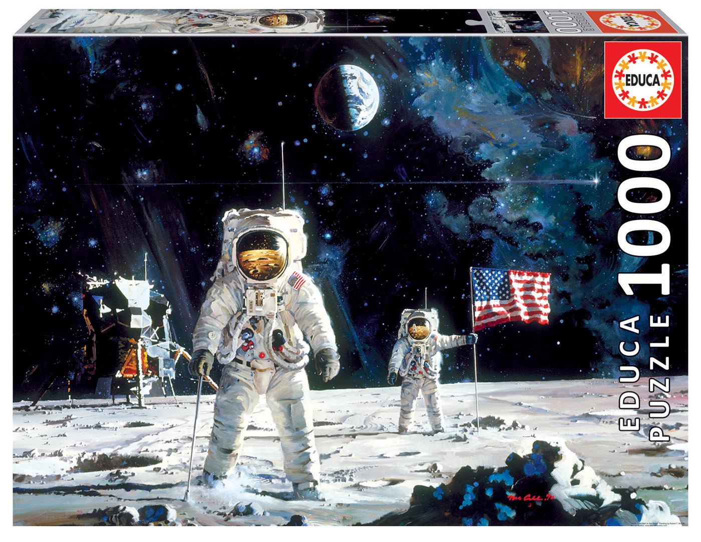 1000 First Men on the Moon, Robert McCall