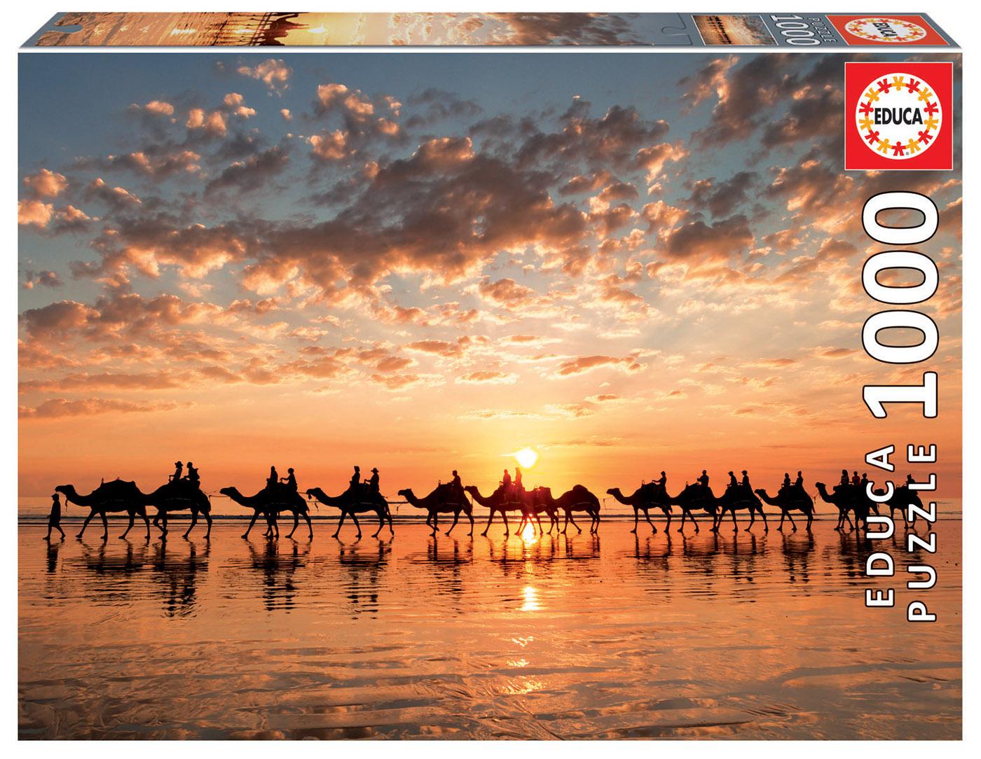 1000 Golden sunset on Cable Beach, Australia