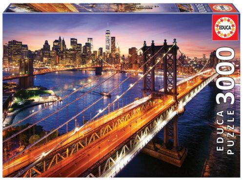 3000 Manhattan at dusk