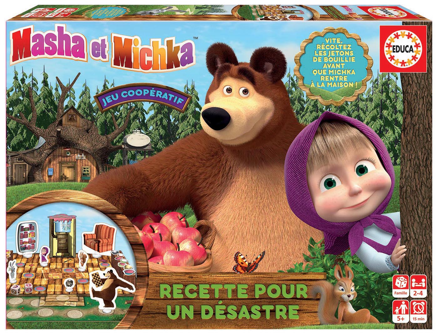 Jeu Masha et Michka