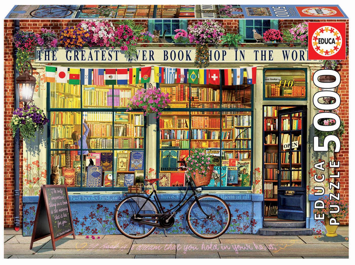 5000 La meilleure librairie du monde