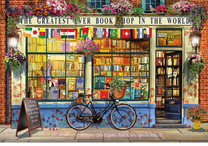 5000 Greatest bookshop in the world
