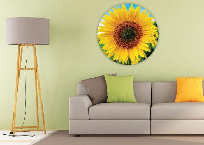 800 Sunflower Round Puzzle