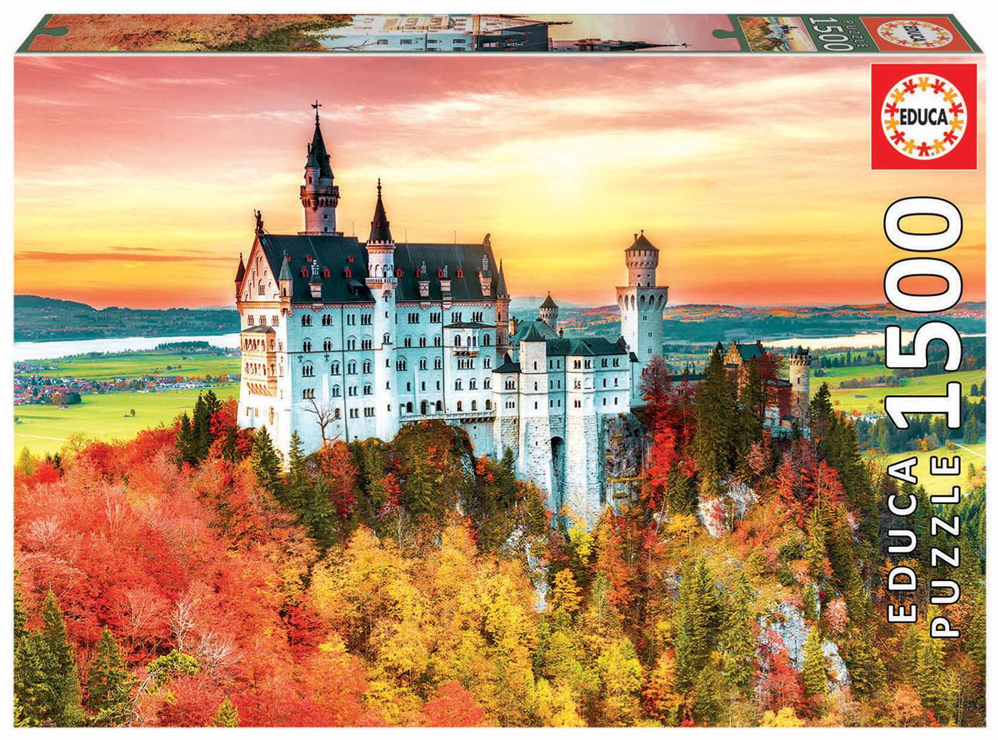 1500 Outono em Neuschwanstein