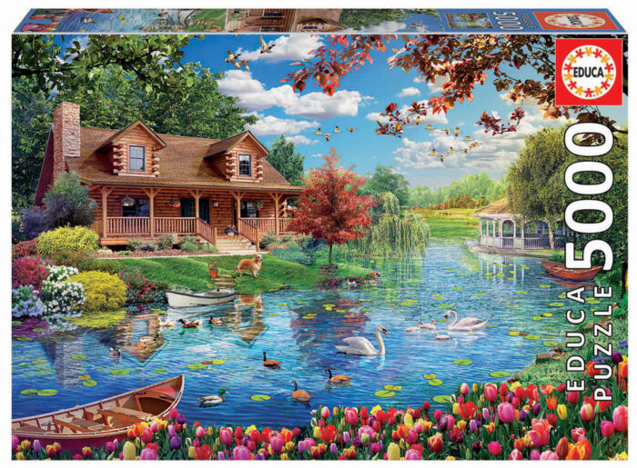 5000 Little house on the lake