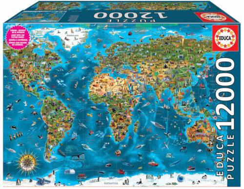 12000 Wonders of the World