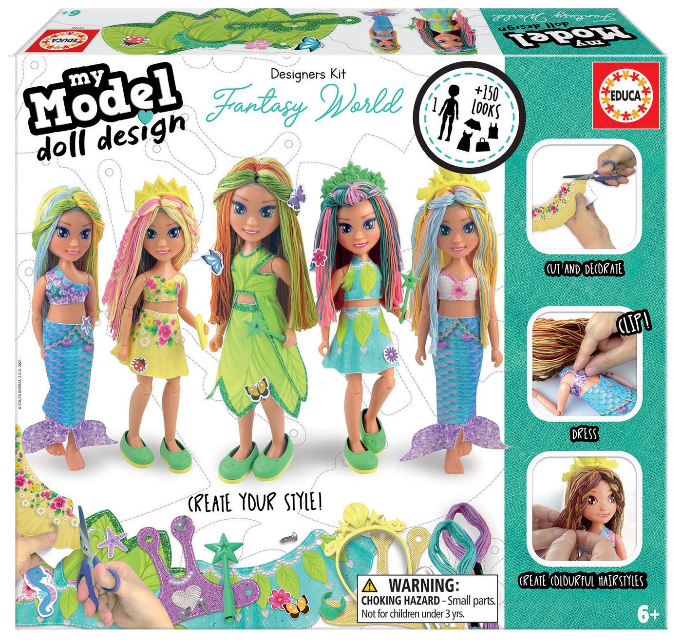 Design Your Doll Fantasy World