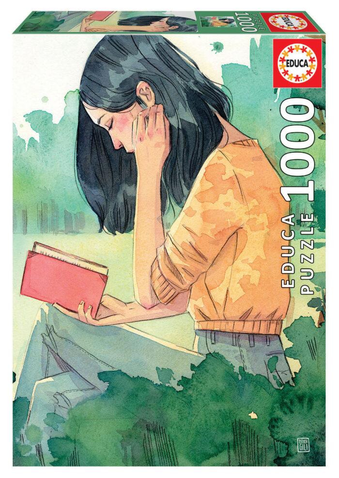1000 La lectora, Esther Gili