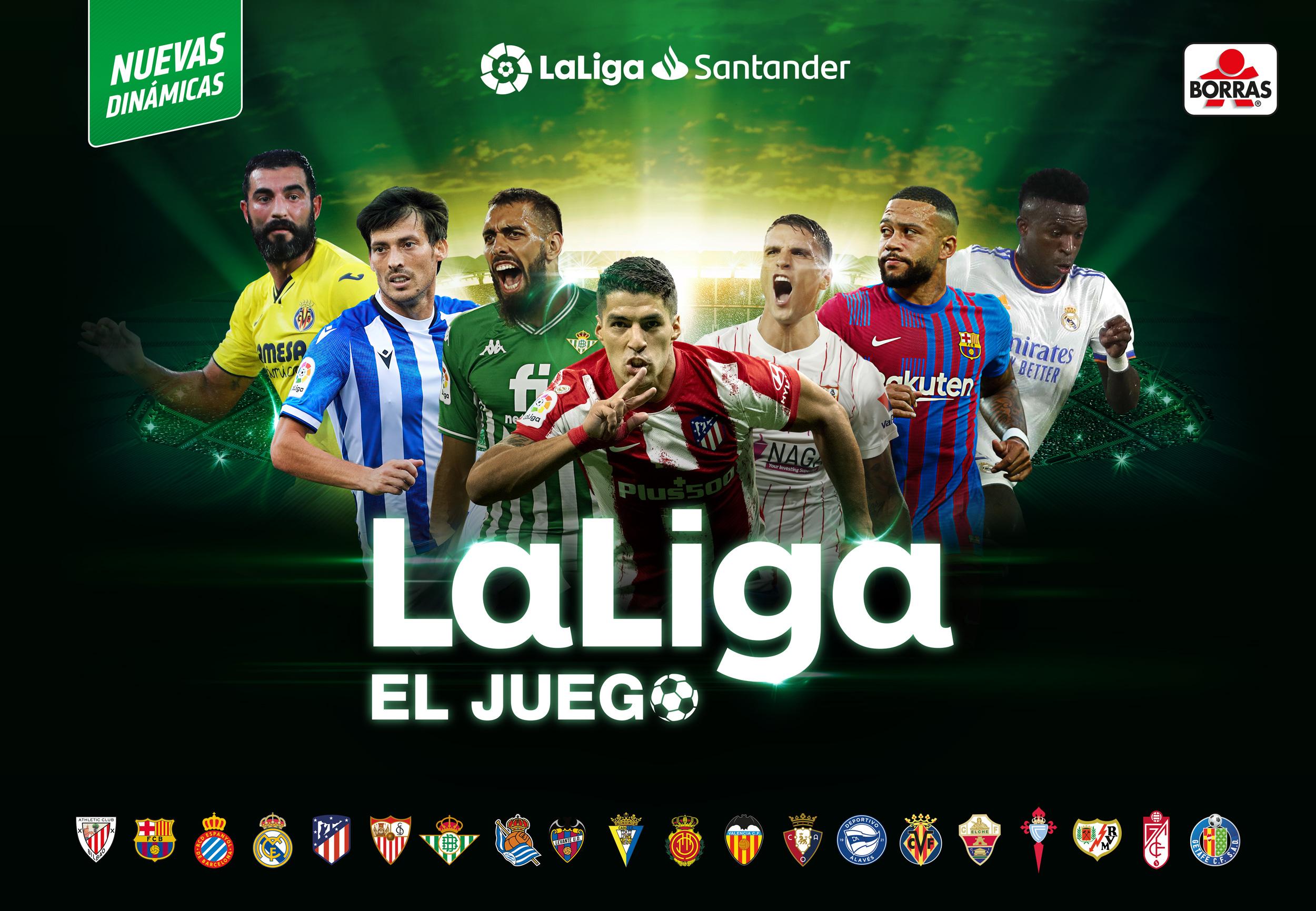 LaLiga. El juego 2021-22