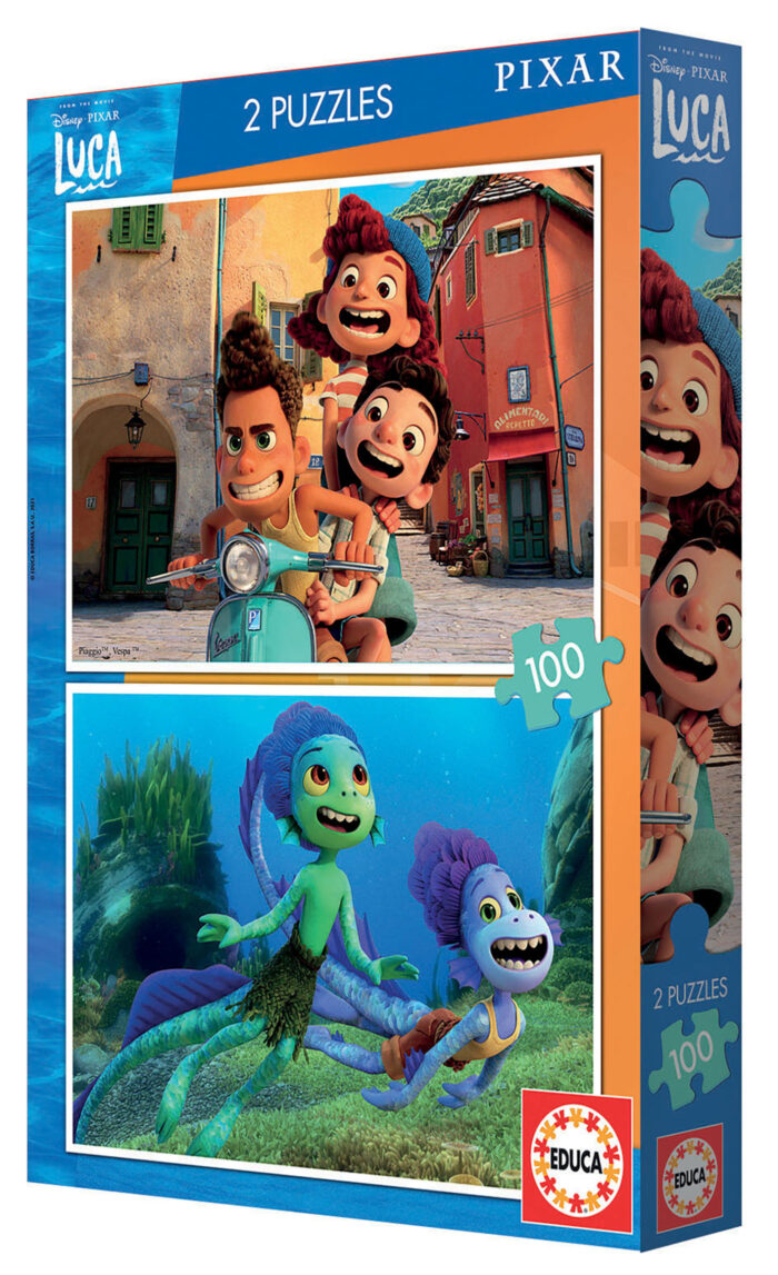 2x100Luca Disney