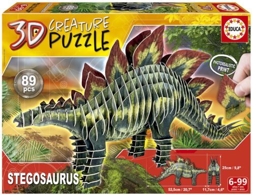 Stegosaurus 3D Creature Puzzle