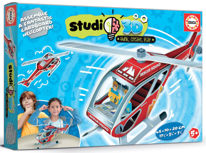 Rescue Helicopter Studio 3D