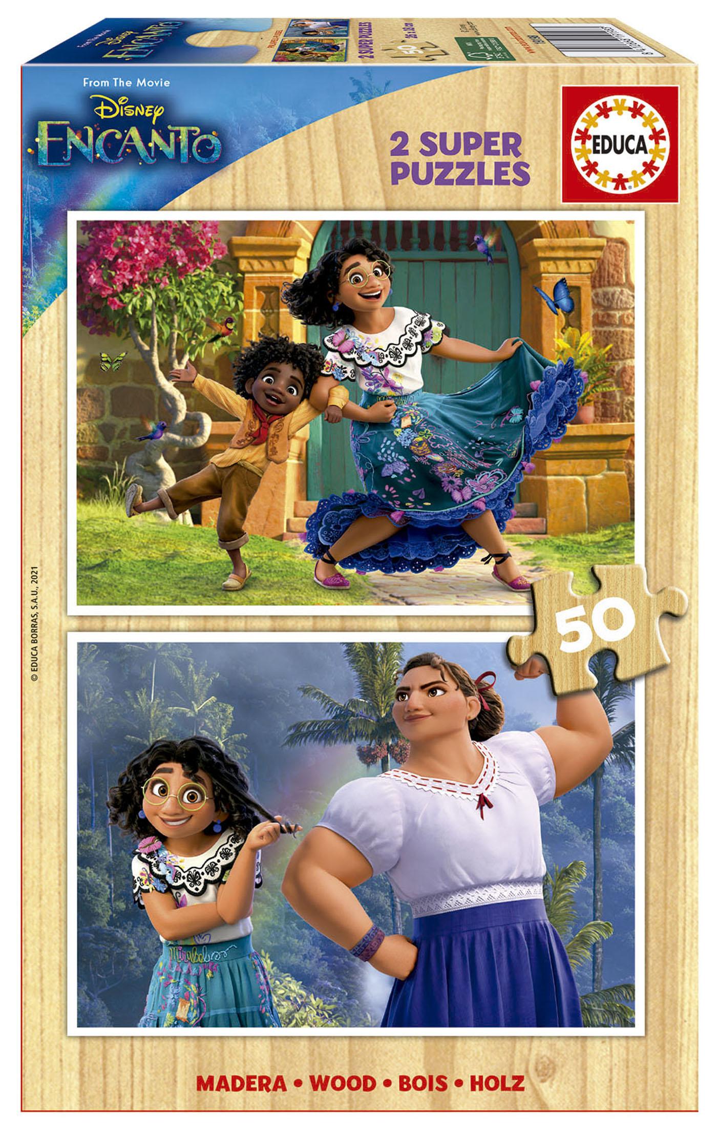 2×50 Encanto Disney Madera