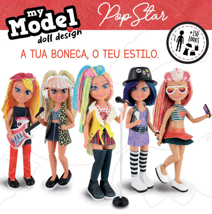 My Model Doll Design Pop Star