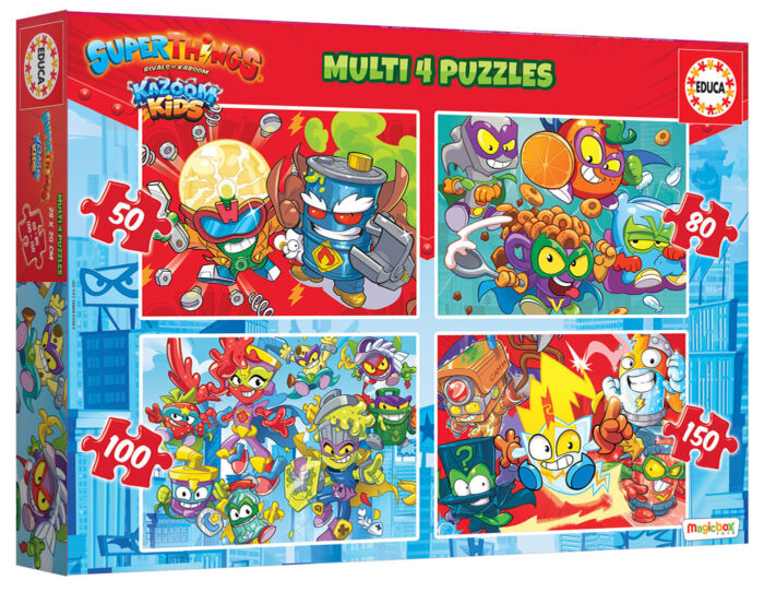 Multi 4 Puzzles Superthings 50-80-100-150
