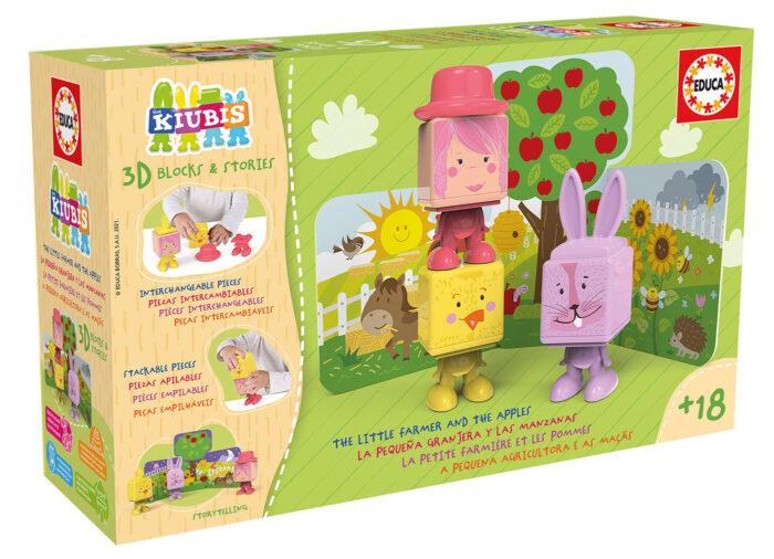 The Kiubis. El pequeño granjero y las manzanas